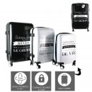 X3 suitcases, 1-fold assorted