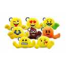 Emoji Plush Keychain assorted