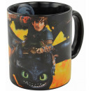 Dragons Mug Toothless with flames