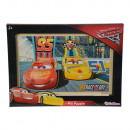 Disney Cars 3 Wooden Puzzle 30x20cm