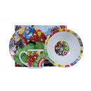 Marvel Avengers Breakfast set 3 piece ceramic