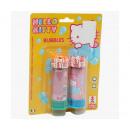 wholesale Outdoor Toys: Hello Kitty Bubble on Blister 2 x 6