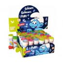 wholesale Outdoor Toys: Smurfen Bubbles 36 pieces in Display