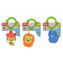 wholesale Baby Toys: Simba ABC Baby Rattle 7x8cm