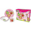 wholesale Houshold & Kitchen: Shopkins Breakfast set 3 piece ceramic