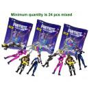 Großhandel Geschenkartikel & Papeterie: Fortnite 3D Schlüsselanhänger sortiert 7cm (Bulk)