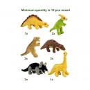 Bauer Tiere mit Herz - Plush mini Dino's assor