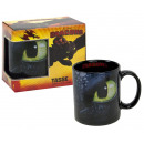 Dragons Mug Toothless black
