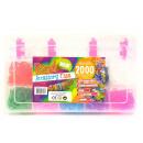 Großhandel Basteln & Malen: Webstuhlbänder im Karton 2000 Stück 17x27cm