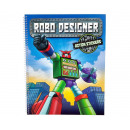 wholesale Experimentation & Research: Robo Designer book with action stickers