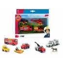wholesale Licensed Products: Fireman Sam Die-cast vehicles 3 assorted 16x