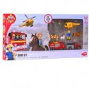 groothandel Modelbouw & miniaturen: Brandweerman Sam Die-cast voertuigen set