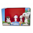 Schleich Snoopy Peanuts Film Scenery Pack 3 d