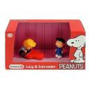 Schleich Snoopy Scenery Pack Lucy & Schroeder