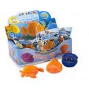 Fluffy marine animals assorted 13cm