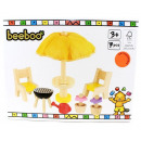 Beeboo wooden barbecue set