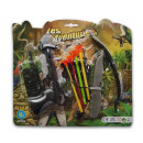 wholesale Other: Crossbow set 8 pcs on card 19cm