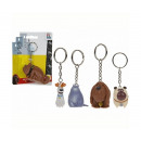 wholesale Gifts & Stationery: Secret Life of Pets keychain 3d 4 assorted