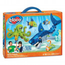 Bloco Marine Creatures 235 pieces 30x41cm