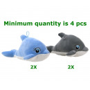 Peluche Dolphin Supersoft 2 assortiti 21c m