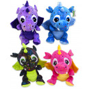 Plush Dragons Star 4 assorted 30cm