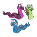 Plush Snake 3 assorted 32cm