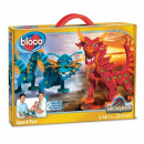 wholesale Other: Bloco Dragons Aqua & Pyro 235 pieces 30x41cm