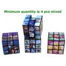 Großhandel Spielwaren: Magic Cubes 4 sortiert 5x5cm