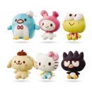 Großhandel Lizenzartikel: Sanrio Hello Kitty Plüsch Supersoft 6 20cm sortier