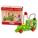 wholesale Home & Living: Wooden vehicle 13.5 x 15.5 cm