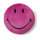 Nici Plush Pillow with magnet Smiley pink + -8cm