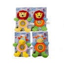 Happy People Plush Baby Rattle 2 assorted 20cm