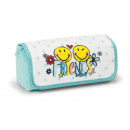 Nici Smiley Friends Plush Roll Pouch + -19x7x7cm