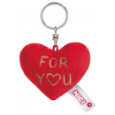 Nici Plush Heart keychain For You