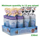 frozen Bubble blower 237ml 2 assorted 18cm in disp