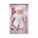 Baby doll with sound 40cm