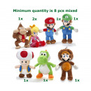 wholesale Licensed Products: Mario Bross Plush 7 assorted 30 cm