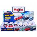 Maisto Die-Cast vehicles VW 11cm 4 assorted in di