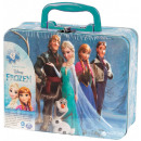 Disney frozen Puzzle in metal case 10x15cm