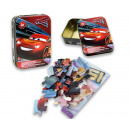 Disney Cars 3 puzzle 24 pieces in tin