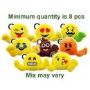 Emoji Plush Porte-clés assorti