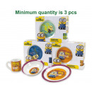 Breakfast set Minions 3 parts ceramic