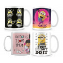 wholesale Household & Kitchen: Despicable Me 3 Mug 11OZ 4 assorted