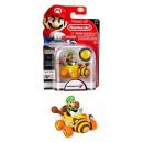 grossiste Blocs & Construction: Figurine Super Mario sous blister Luigi 10x15cm