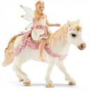 Schleich Bayala Lilienzarte Elfe on Pony