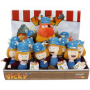 Wickie the Viking plush 2 assorted 24cm in Display