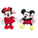 Disney Plush Mickey & Minnie Mouse 2 assorted