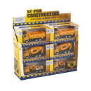 Die-Cast Construction vehicles in 3 assorted disp