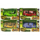 wholesale Toys: Auto Forest Pull Back 4 assorted 6,5x11,5cm