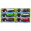 wholesale Other: Tractor with trailer Friction 6 assorted 10x31cm